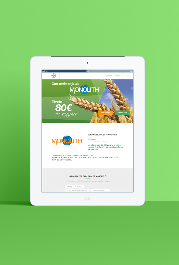 proyecto bayer tablet monolith